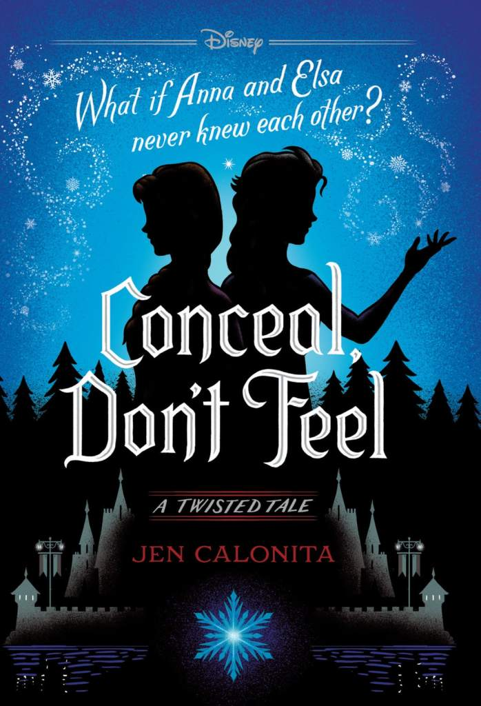 Conceal, Don't Feel book cover art