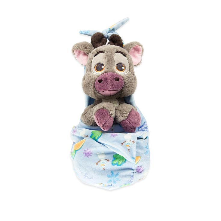 Sven Plush with Blanket Pouch