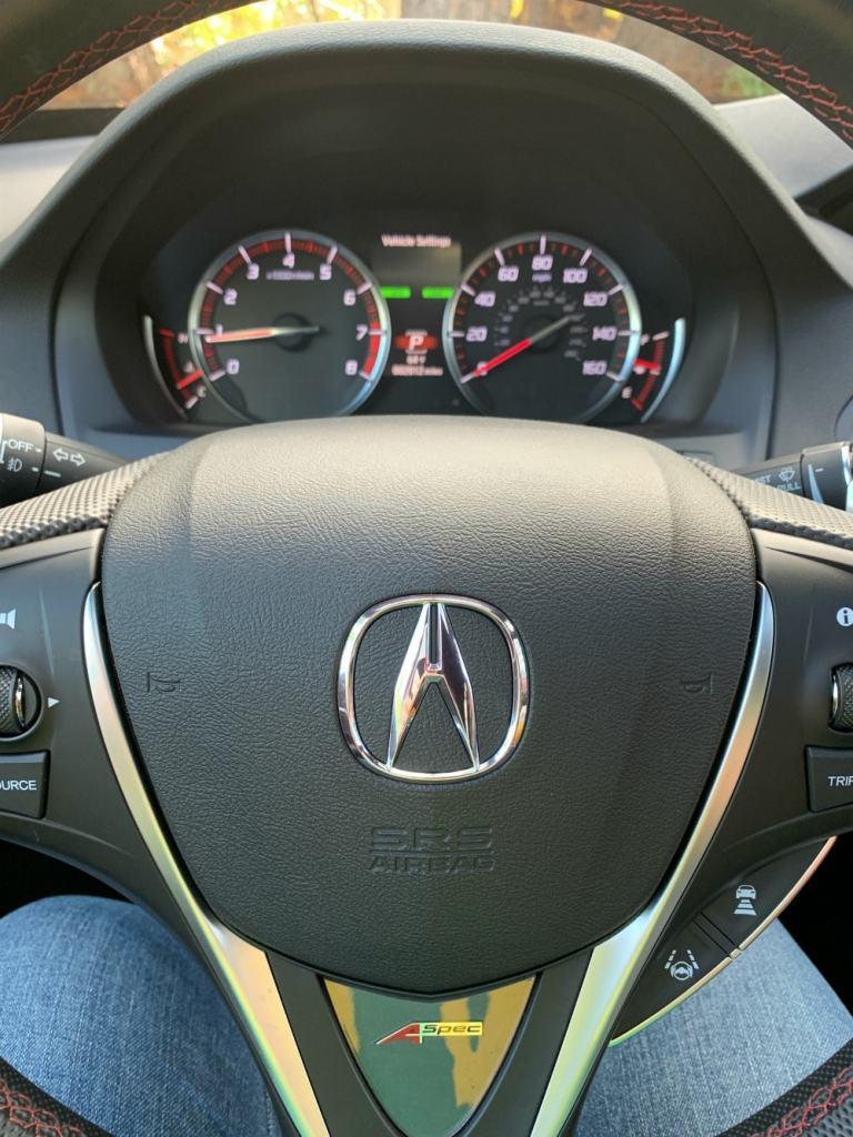Acura MDX steering