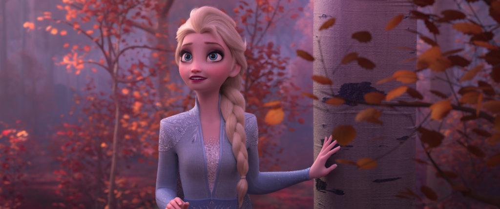 FROZEN 2 Elsa enchanted forest