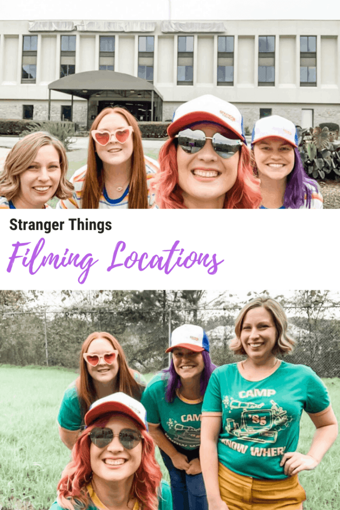 stranger things filming locations