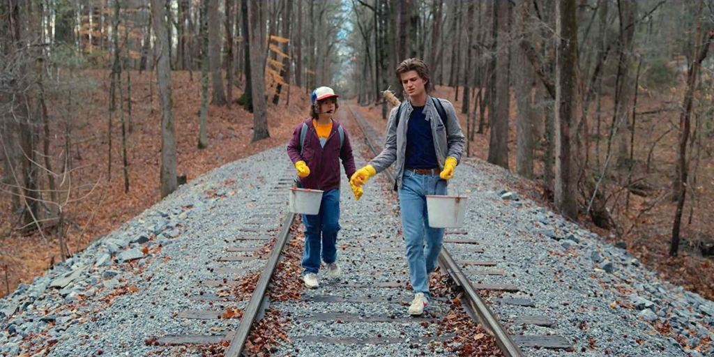 Stranger Things: Railroad Tracks