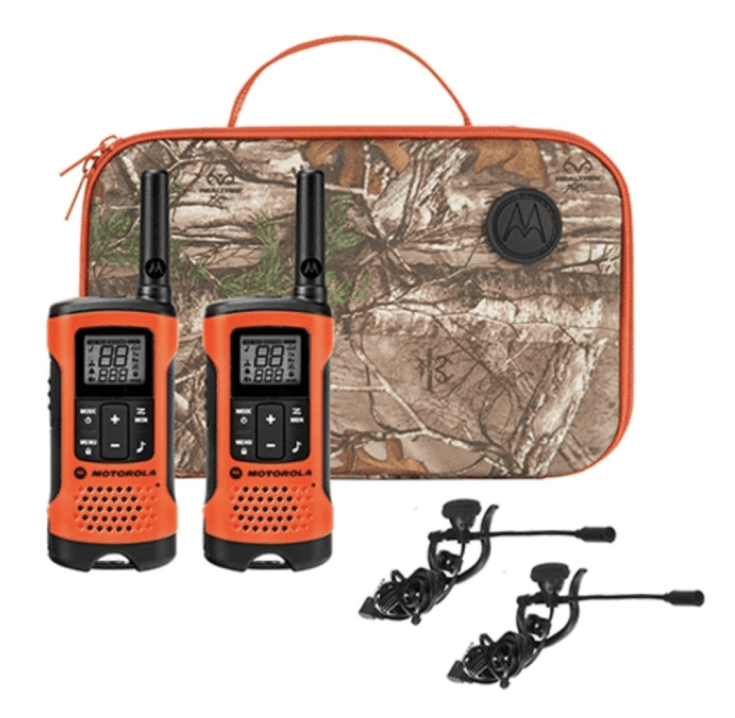 Motorola T265 Rechargeable Two-Way Radios Sportsman Edition