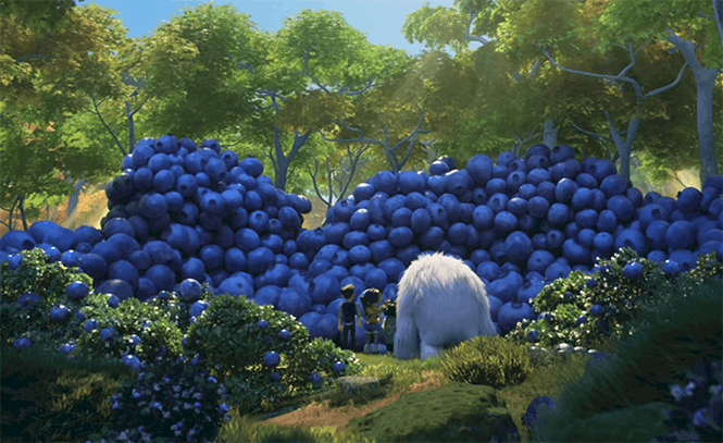 abominable blueberries still