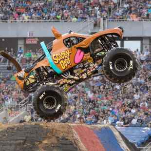 Monster Jam Scooby Doo