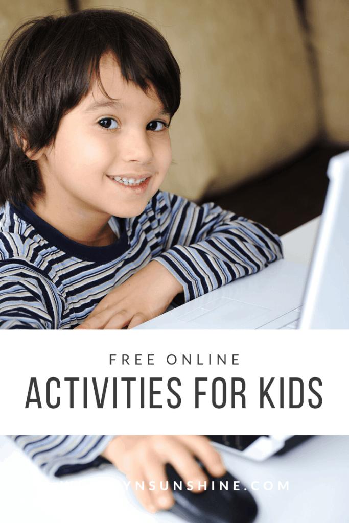 Free Online Activities for Kids
