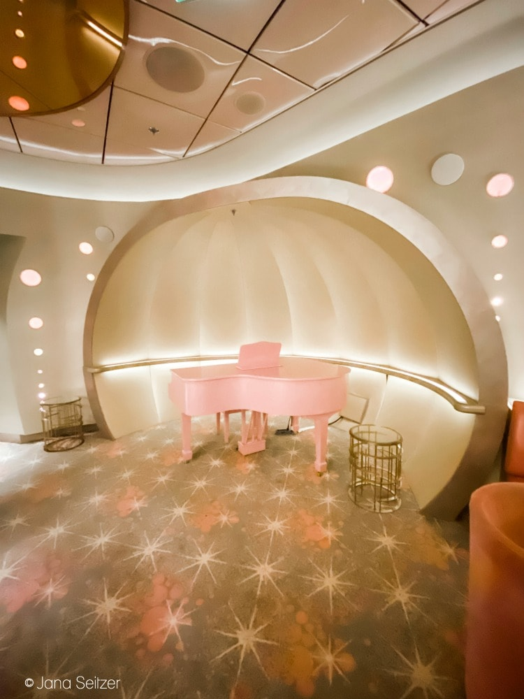 Pink Bar in the District - Disney Cruise Line