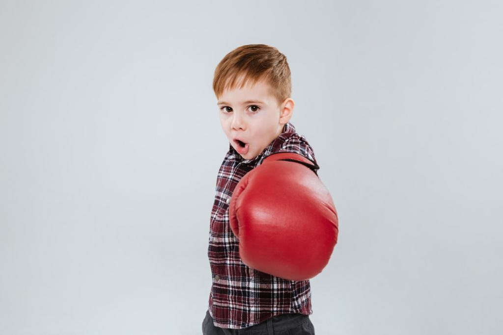 kid boxing glove