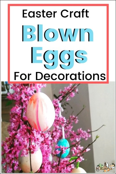 Blown Eggs for Easter