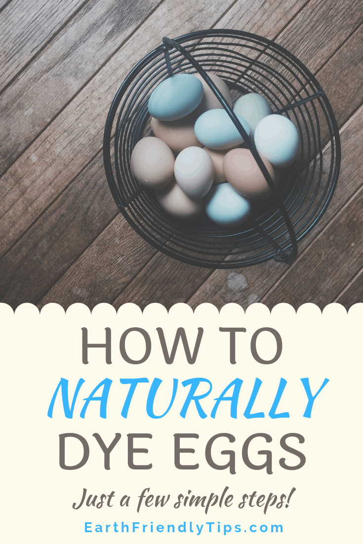 How to Naturally Dye Eggs