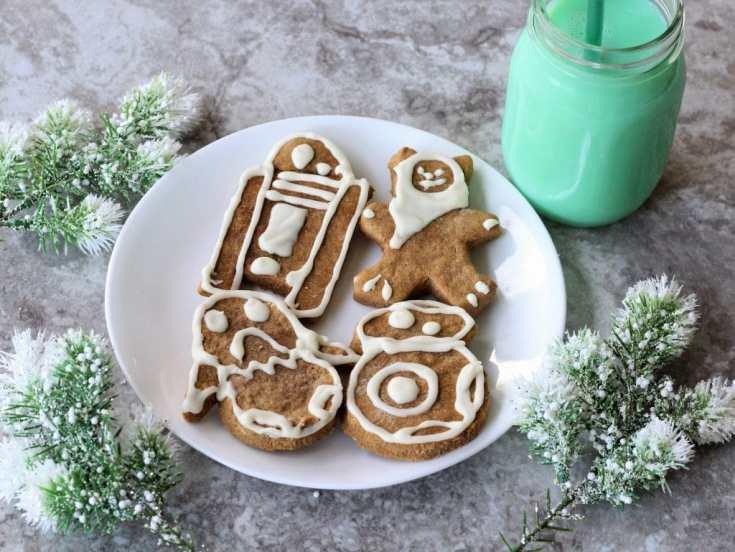 Cute Creatures Star Wars Gingerbread Cookies