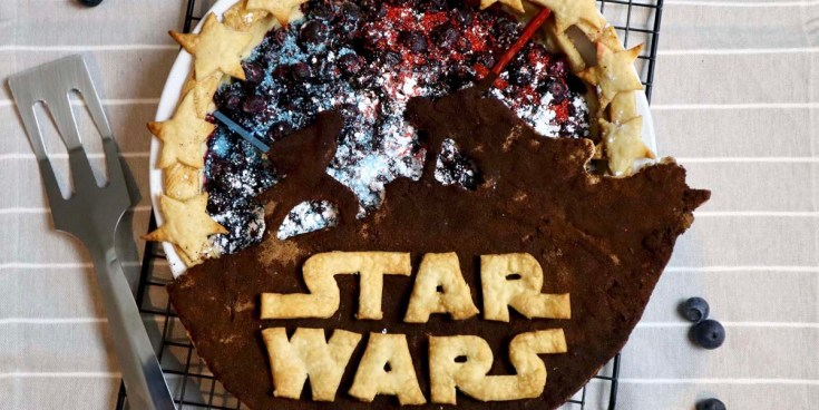 Star Wars Pie Inspired by The Rise of Skywalker