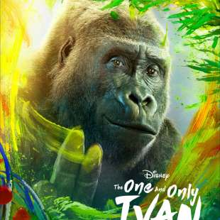 THE ONE AND ONLY IVAN character poster