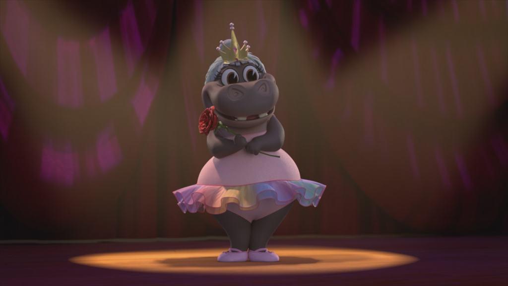 Dreamworks Animation Madagascar: A Little Wild's Gloria the Hippo