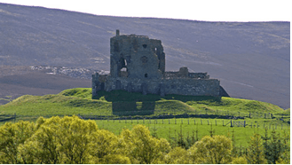 Auchindoon Castle