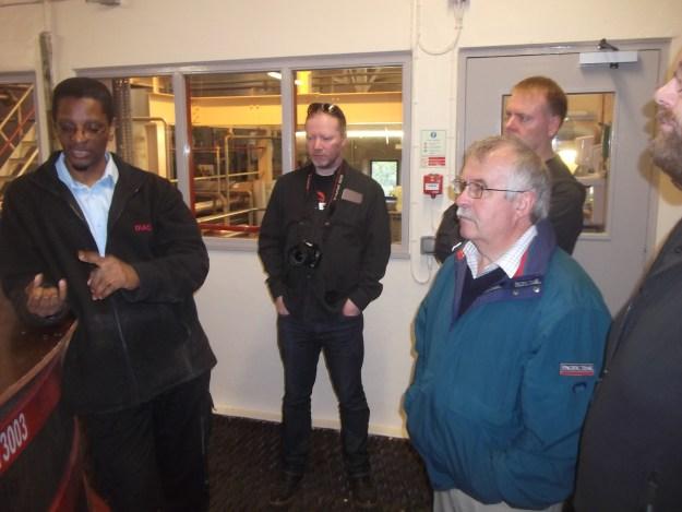 Glen Elgin Distillery tour