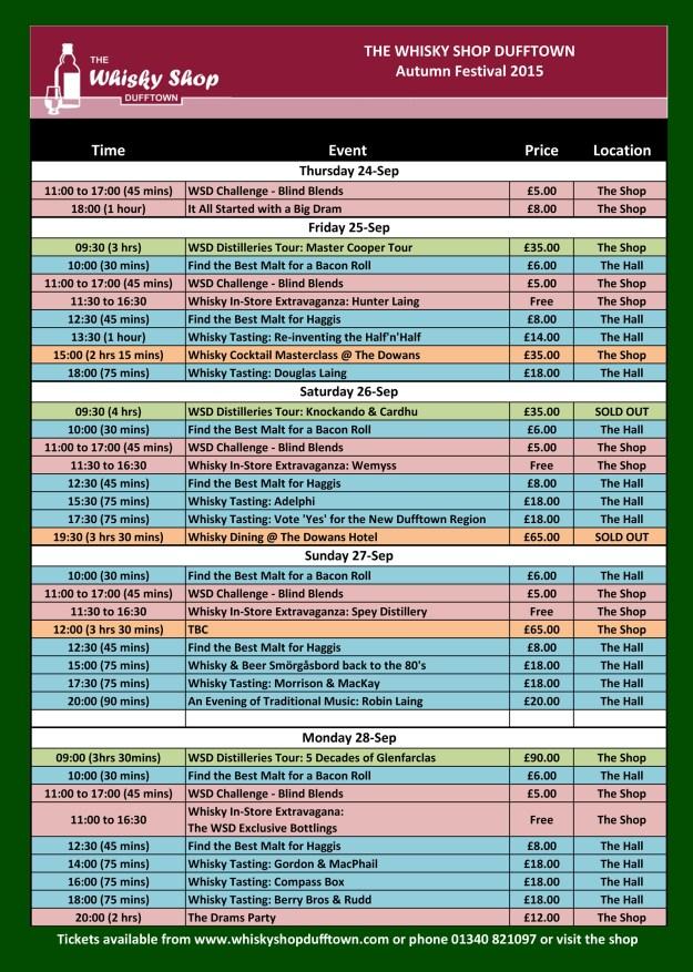 WSD WSDAF 2015 Timetable Poster v2