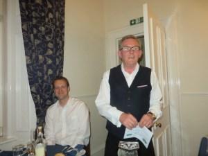 Alan of the Tannochbrae with Matthew of Glenfarclas