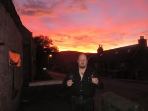 Moist at sunset
