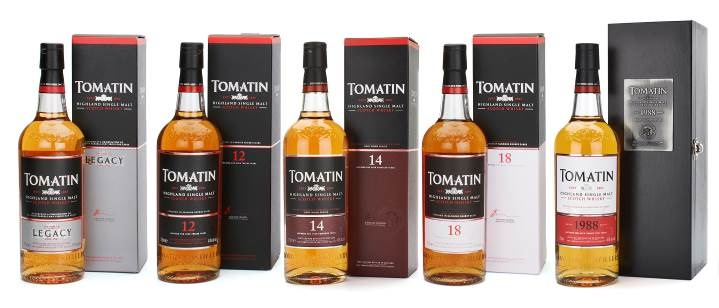 Tomatin Whisky Assortiment