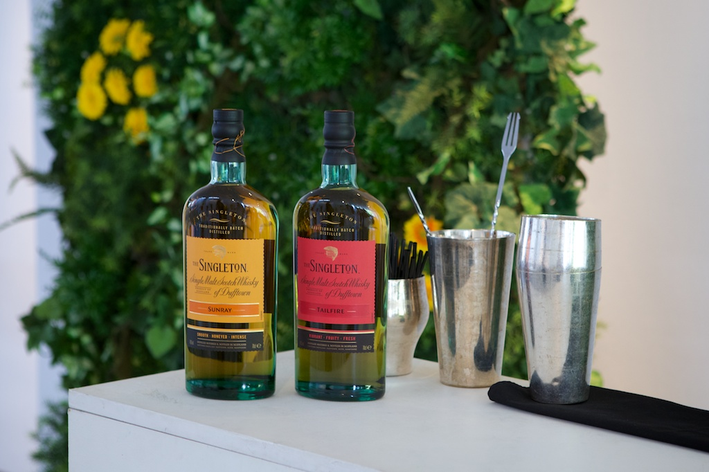 The Singleton Sunray & Tailfire ready to use in a Cocktail