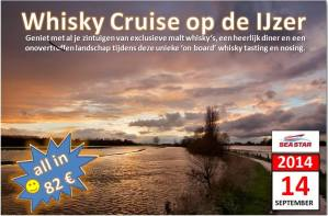 Whisky Cruise op de Ijzer - Flyer
