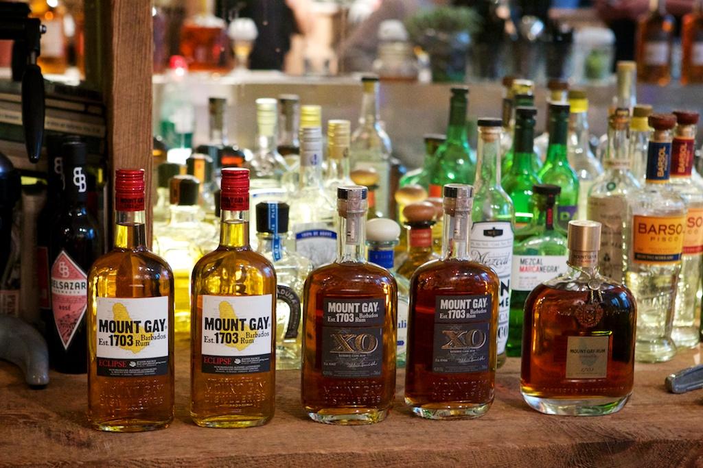 Mount Gay Rum line up