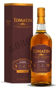 Tomatin Cuatro Oloroso Sherry Finish