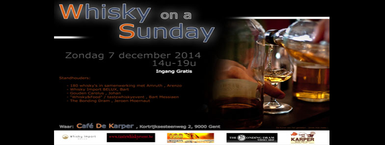 Whisky on a Sunday 2014