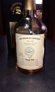 Signatory Tomatin 20 y Old 1976 - 1996 - Bottle.