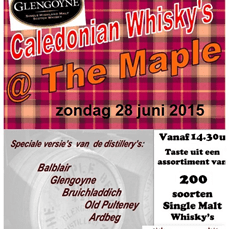 Caledonian Whiksy's @ The Maple