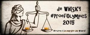 Whisky Proefolympics 2015 - Banner