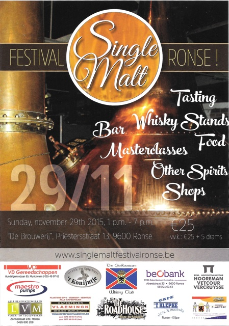 Single Malt Festival Ronse