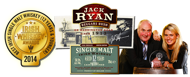 Jack Ryan 12 Year Old Single Malt Irish Whiskey