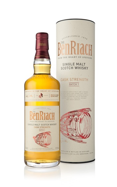 BenRiach Cask Strength Batch 1