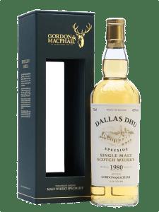 Dallas Dhu 1980 - Gordon & MacPhail - Rare Vintage