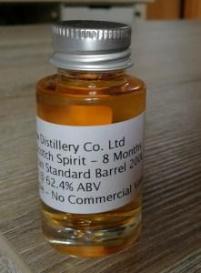 The Glasgow Distillery - Spirit - Matured 8 Months - Sample