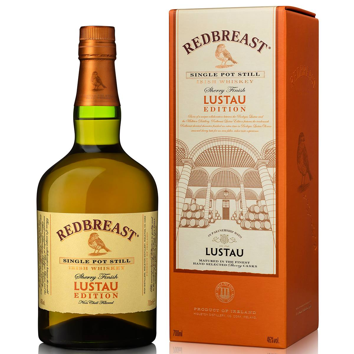 Redbreast Sherry Finish Lustau Edition