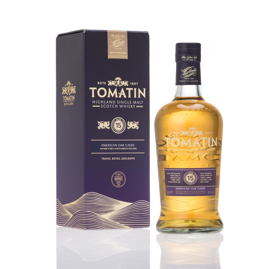 Tomatin 15 Yo - 70cl - Travel Retail