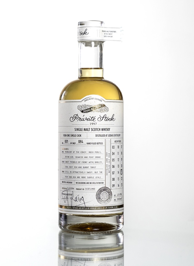 Douglas Laing - Private Stock - Ledaig 21