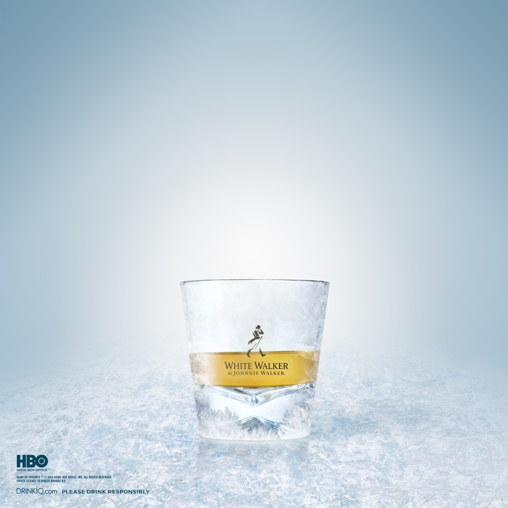 Dragon Glass - White Walker by Johnnie Walker - Neat Serve