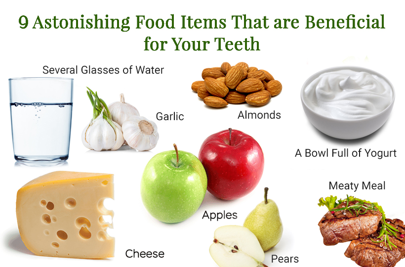 9 Astonishing Food Items That Are Beneficial For Your Teeth