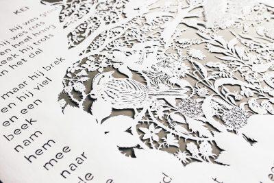 Custom papercut - Publisher Plint - Detail