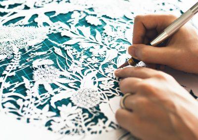 Papercut Design for Publisher Plint