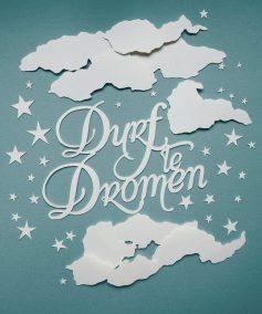 Papercut Illustrations for Libelle Magazine - Dare to Dream - Whispering Paper