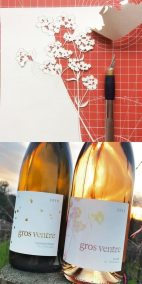 Gros Ventre Wine Labels - 2: WIP & Labels on Wine 2 - Whispering Paper