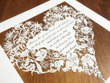 Papercut 25th Anniversary - Side Left - Whispering Paper