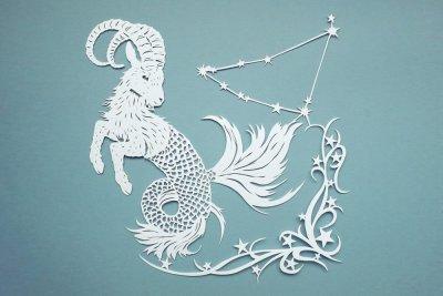 Papercut Illustrations for Libelle Magazine - Capricorn - Whispering Paper