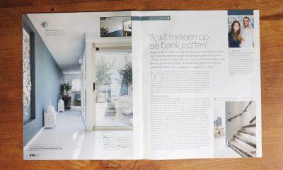 Corporate Commission – Papercut VT Wonen TV Show – Magazine page 1 - Whispering Paper