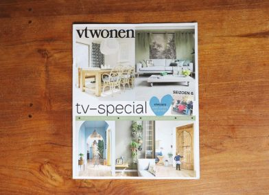 Corporate Commission - Papercut VT Wonen TV Show - Magazine cover - Whispering Paper